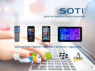 SOTI – Gestión de dispositivos móviles empresariales