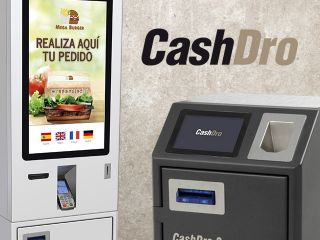 Firma de comercialización de CashDro Uruguay