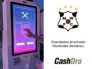 Montevideo Wanderers, incorpora Kiosco Interactivo CashDro
