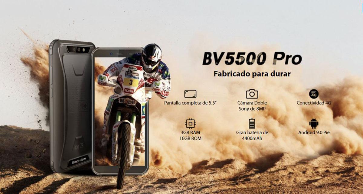 Celular Blackview BV5500 Pro Robusto/ 5.5''/ 16Gb/ 3Gb 9