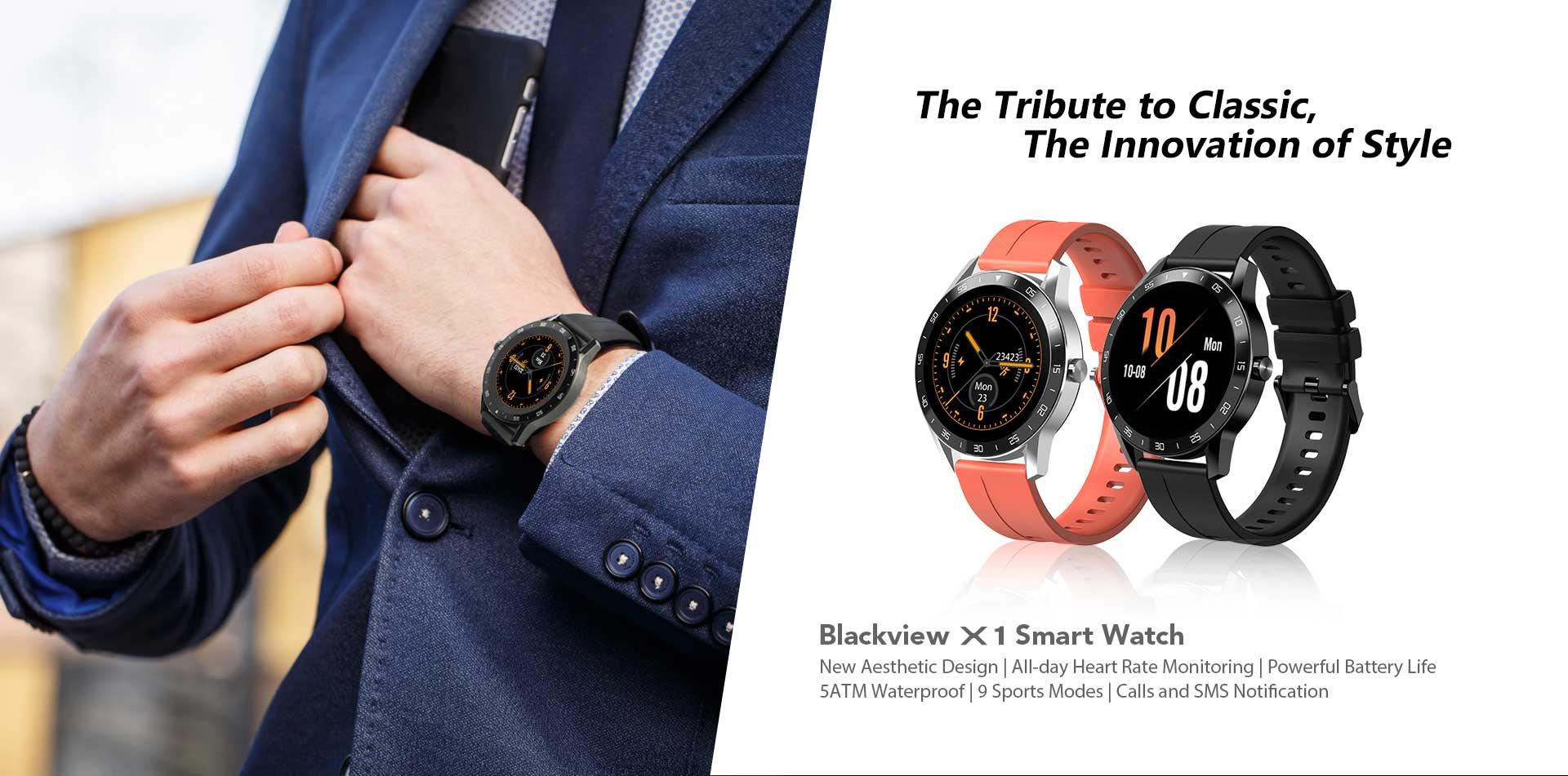Reloj Inteligente Blackview X1 8
